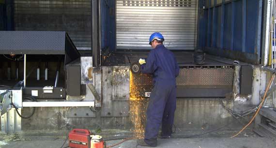 DSG-Systems Dockshelters Montage- VCA gecertificeerd